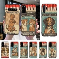 yndfcnb retro matchbox painted phone case for samsung s20 s10 s8 s9 plus s7 s6 s5 note10 note9 s10lite
