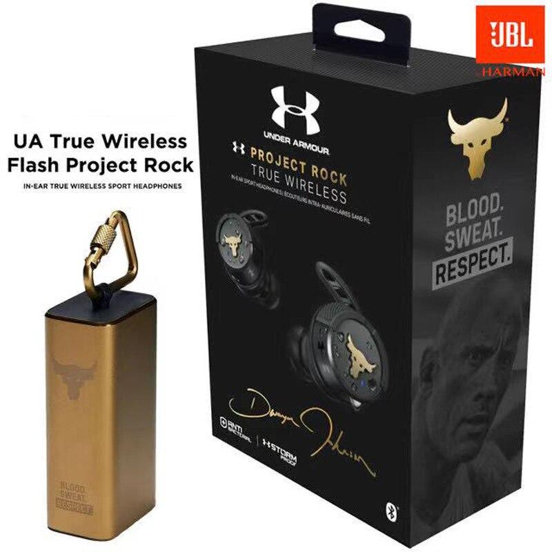 Fones de Ouvido sem Fio Fone de Ouvido Esporte com Microfone Original Flash Projeto Rock Bluetooth Jogo Estéreo 100% Jbl ua