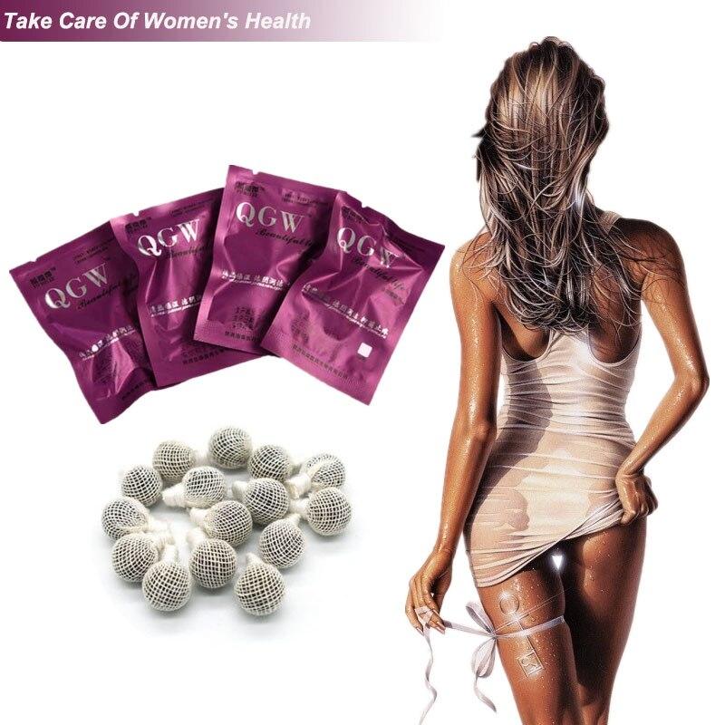 10 Uds Yoni perlas Detox de tampones vaginales Punto Limpio tampón de...
