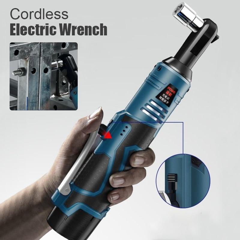 12V-25V Cordless Electric Wrench 3/8