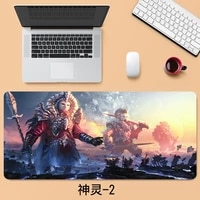40x90cm fantasy gods mouse pad large thicken competitive game keyboard pad office home table mat gaming accessories
