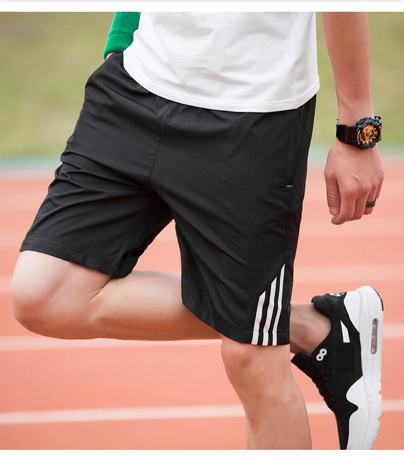 2020 Boardshorts Männlichen Casual Fitness Gestreiften männer Sportswear Jogger Bodybuilding Shorts