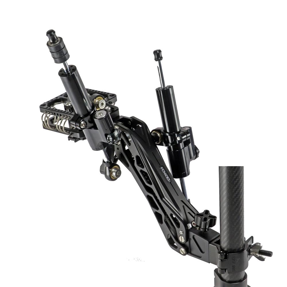 HONTOO Gimbal امتصاص الصدمات الذراع المخمد مع 2 الهيدروليكية المثبط 10 كجم ل DJI RONIN MX S RS2 RC2 Zhiyun weebell سنادات بالسيارة تلاعب