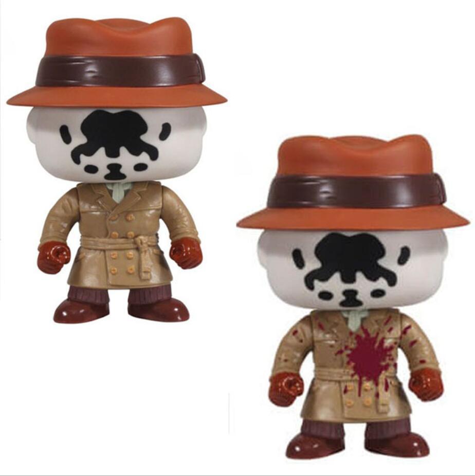 FUNKO POP Original WATCHMEN 24# RORSCHACH Doll Collection Kids Toy Action Figures Model Toy for Children