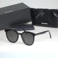 2021 new high quality solo sunglasses korea brand gentle sunglasses women men acetate round eyeglasses with original case