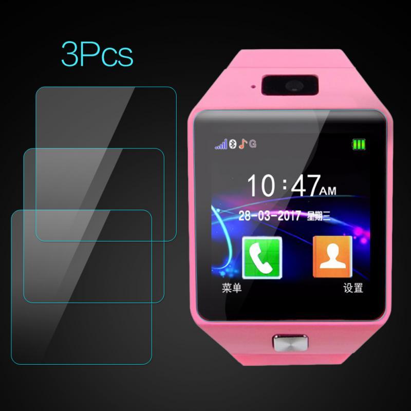Para dz09 smary relógio claro protetor de tela tpu película protetora para dz09 nfc pulseira inteligente para tiktok txtb1