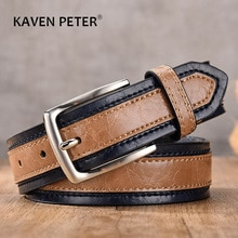 Designer Belts Men Pu Genuine Leather Fashion Casual Strap Male Jeans Luxury Brand Alloy Metal Pin Buckle Cintos Masculinos