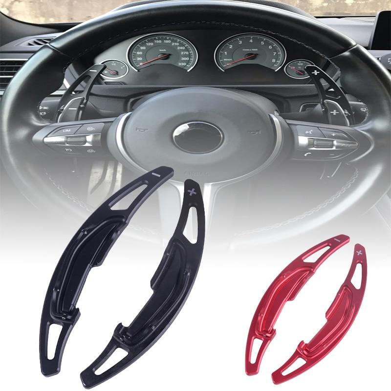 Accesorios de coche volante cambio paleta de palanca de hoja para BMW M2 F87 M3 F80 M4 F82 M6 F06 F12 2016, 2017
