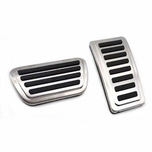 Автомобильные внутренние аксессуары для 2021 Dodge Ram 1500 2500 AT, педаль акселератора из нержавеющей стали, тормозные колодки, педали, нескользящая педаль