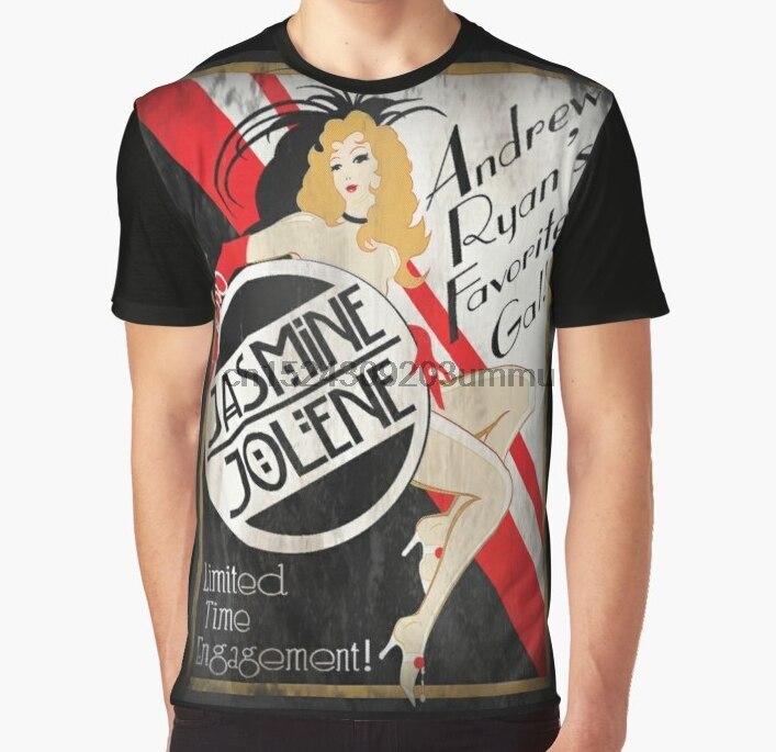 Camiseta para mujer con estampado de todo el mundo, camiseta divertida para hombre, camiseta para mujer con póster de Jasmine Jolene