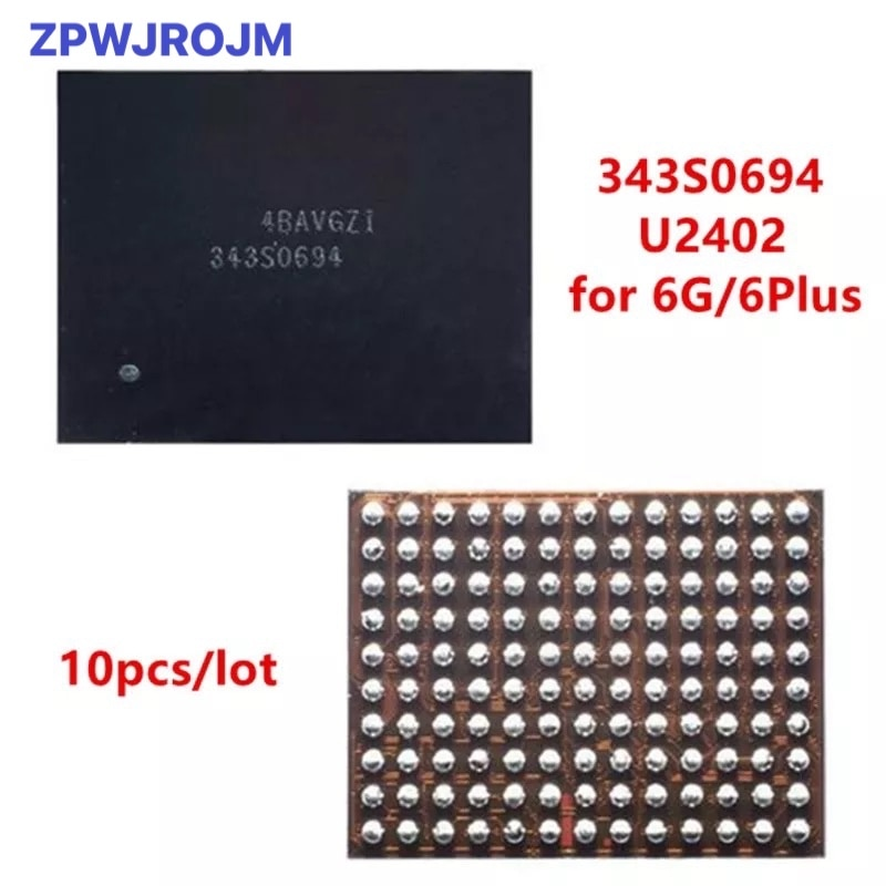 10pcs/lot U2402 Screen Controller ic Reball for iPhone 6 & 6Plus 6G Black Meson Touch ic 343S0694 ch