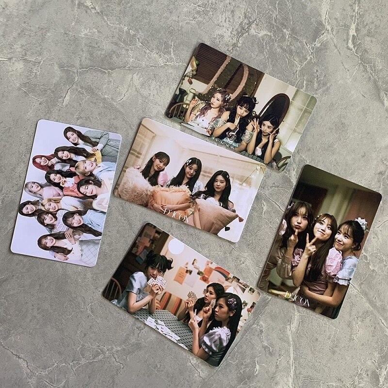 kpop niziu selfie photo card polaroid postcard lomo card collection card withu random photo card hot selling star peripheral KPOP IZONE Photo Card Polaroid Selfie Photo Card Postcard LOMO Card IZ*ONE Peripheral Random Card Hot Star Peripheral