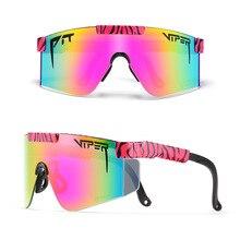 Pit Viper Stylish Multicolored Men Oversized Sunglasses Goggles Windproof Safety Gafas de sol Hot Sa