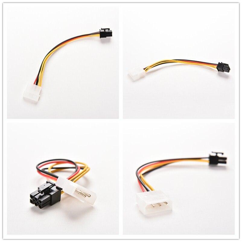Adaptador de Cable con conector de tarjeta de vídeo de PC, convertidor...