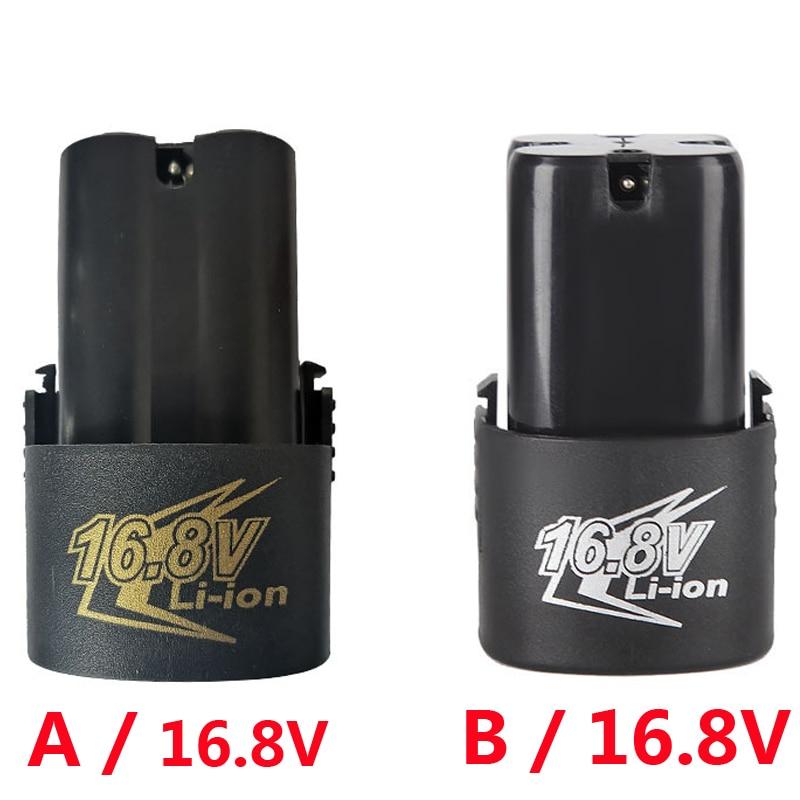 16,8 V recargable 18650 batería de herramientas destornillador eléctrico reemplazo de la...