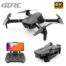 4DRC V4 WIFI FPV Drone WiFi live video FPV 4K/1080P HD Wide Angle Camera Foldable Altitude Hold Dura