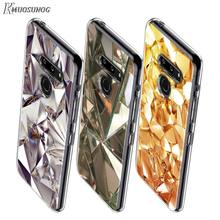 Cristal Diamant Style pour LG W20 W10 V50S V50 V40 V30 K50S K40S K30 K20 Q60 Q8 Q7 Q6 G8 G7 G6 ThinQ coque de téléphone