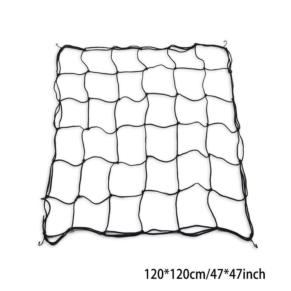 Flexible Net Trellis Elastic Trellis Netting with 4 Steel Hooks for Grow Tents Garden Botany Uniform illumination