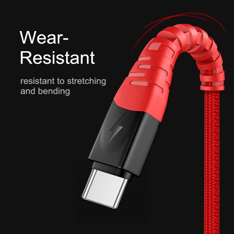 Cable Microusb de carga rápida 5A, Cable de datos USB para Samsung,...