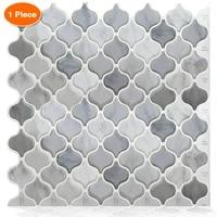 Carrelage mosaique auto-adhesif  deflecteur arriere  salle de bains cuisine  papier peint decoratif en ethylene