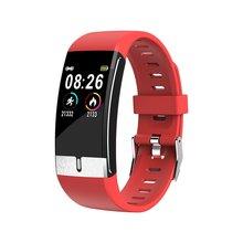 U8 Smart Gezondheid Monitoring Armband Plus Ecg + Ppg Test Armband Horloge Fitness Tracker Waterdicht Smart Armband