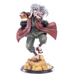 Naruto shippuden anime figrue jiraiya gama sennin pvc figura de ação estátua collectible brinquedo decoração desktop boneca figma 20cm