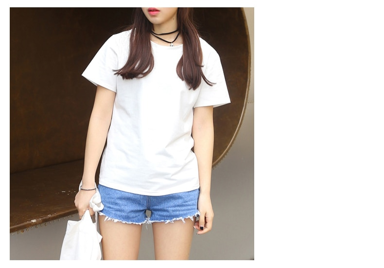 2020 tshirt  women t shirt   friends new hot style letter  brown  friends print short   sleeve    t-shirts Europe