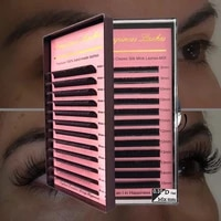 individual natural classic eyelash extension all size supplies premium faux mink lash for professional salon free shipping