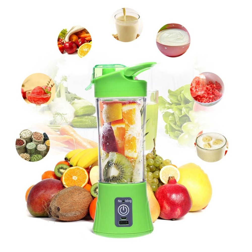 Máquina exprimidora de cítricos USB portátil, licuadora de botellas, botella exprimidora recargable, uso doméstico de viaje, exprimidor de frutas de mano