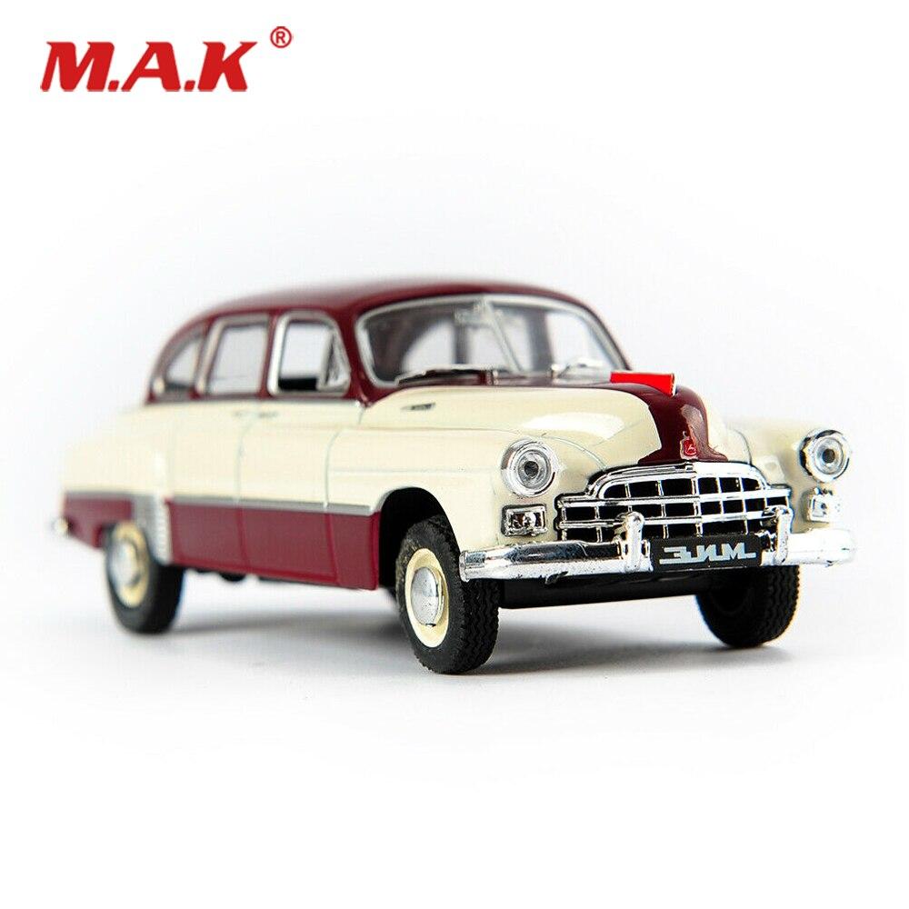 Gran oferta 143 coche en miniatura de aleación vehículos baratos niños juguetes ruso antiguo coche de Gas soviético Jim modelo niños juguetes para regalos de colección