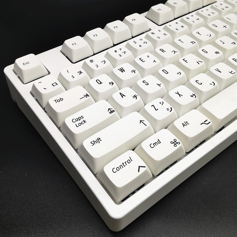 مفاتيح اليابانية 156 مفاتيح XDA الشخصي الكرز MX مفاتيح بيضاء نقية بسيطة INS لوحة مفاتيح الألعاب الميكانيكية