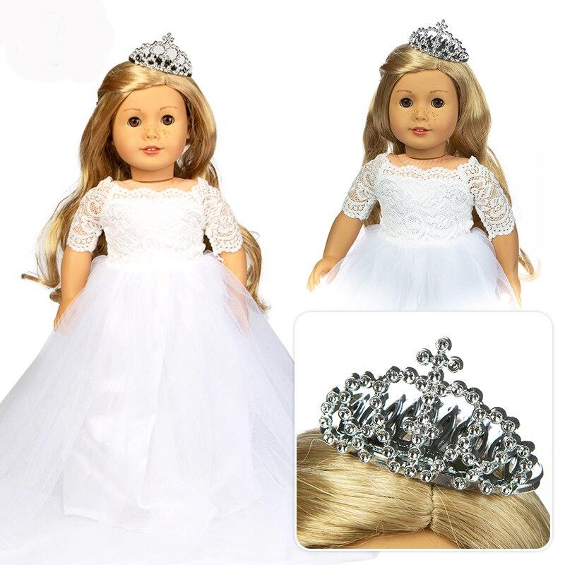 Beaux vêtements de robe de mariage convient pour fille américaine 18