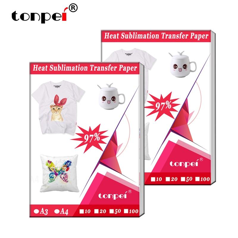 a3-a4-carta-per-trasferimento-a-sublimazione-di-calore-per-tessuti-t-shirt-in-poliestere-custodia-per-telefono-in-tessuto-design-di-stampa-per-stampanti-a-getto-d'inchiostro