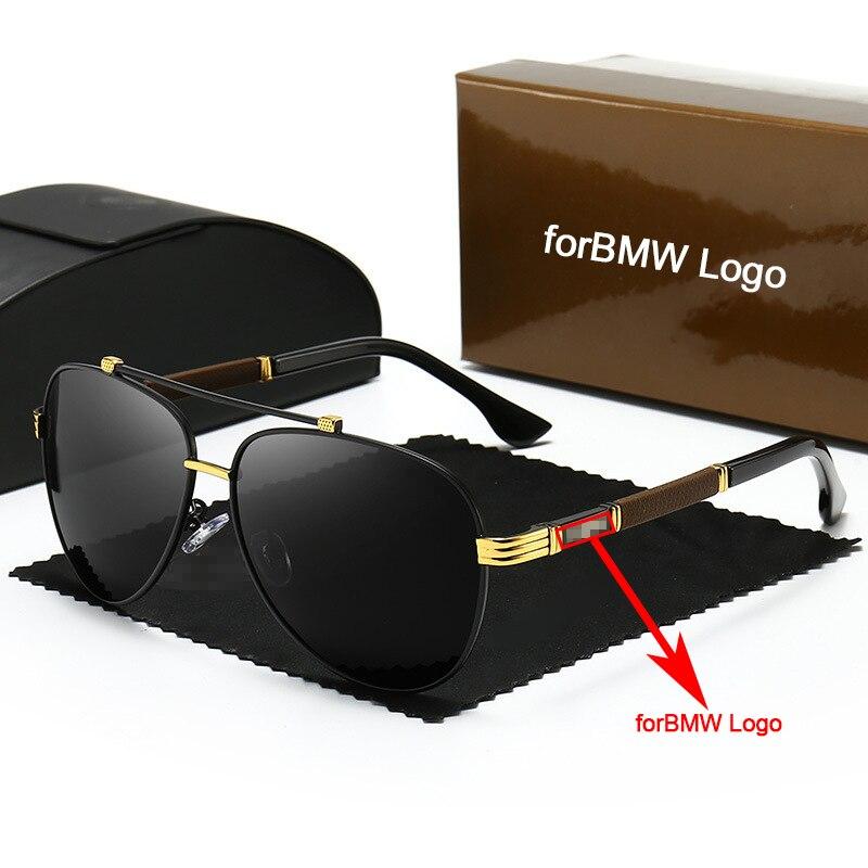 Men Car Polarized Sunglasses Anti-UV Eyeglasses for BMW All Models Trend Personality Eyeglass Drivin
