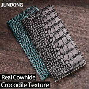 Leather Flip Phone Case For Sony XA XA1 XA2 XA3 Ultra Z2 Z3 Z4 Z5 XZ XZS XZ1 XZ2 XZ3 XZ4 XZ5 X 5 8 10 20 Crocodile Wallet Bag