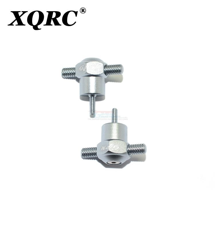 XQRC Aluminum alloy spare tire lock set nut tool for traxxas 1 / 7 unlimited desert Racer UDR upgrade parts enlarge