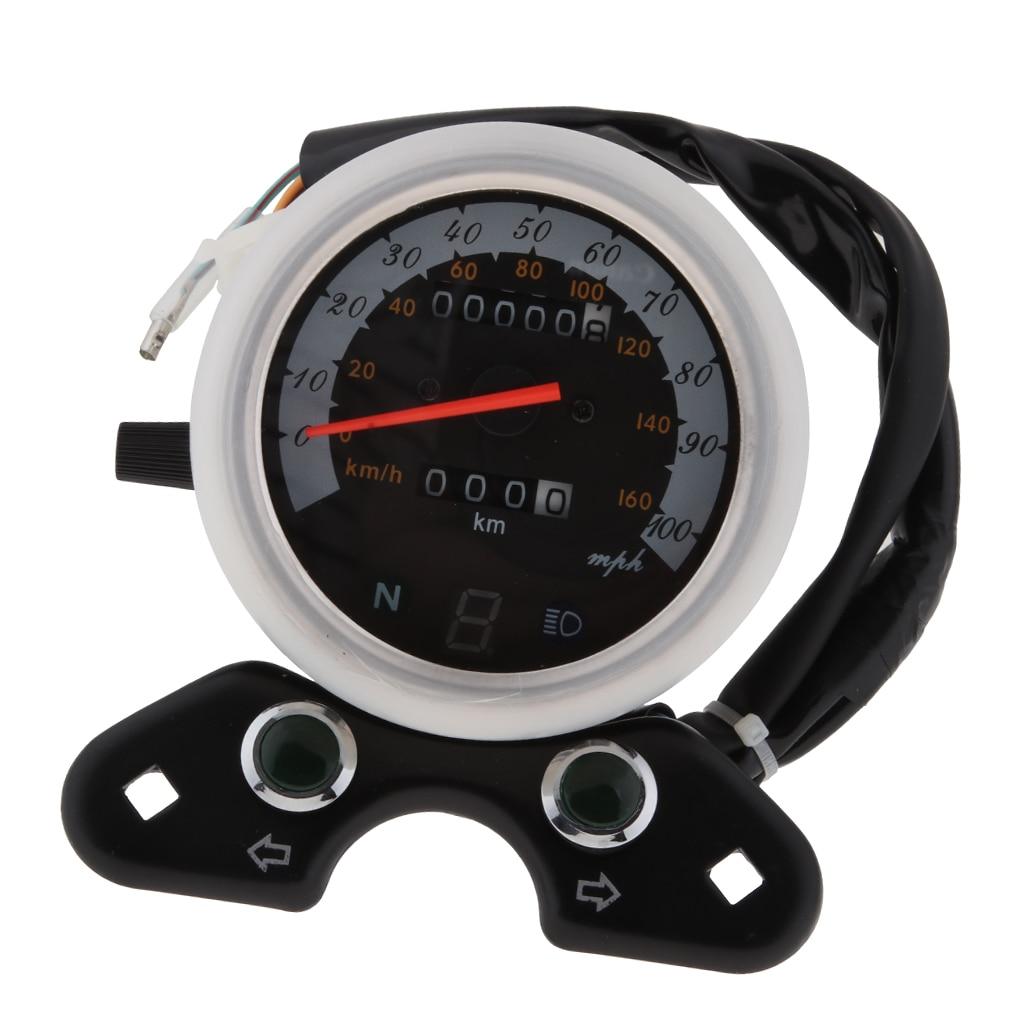 Odómetro velocímetro Digital indicador multifuncional para Honda CG125