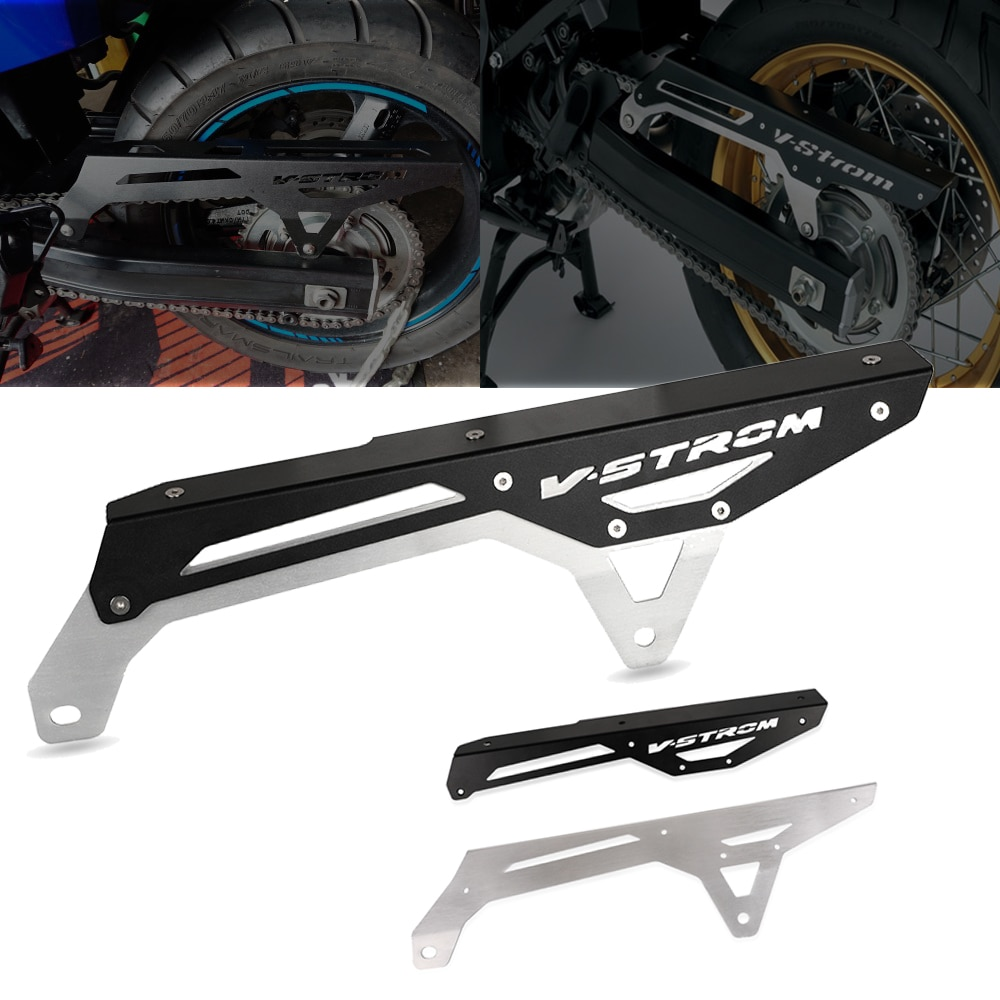 For Suzuki V-Strom 650 650XT VStrom DL650 2004-2015 2016 2017 2018 2019 2020 Motorcycle Sprocket Chain Guard Cover Protector