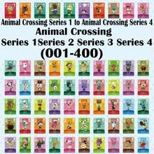 Neue 400 Animal Crossing Karte Amiibo Karte Vollen Satz (Serie 1 zu Serie 4)