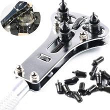 นาฬิกาซ่อมเครื่องมือปรับกลับกรณีเปิดประแจ Remover แบตเตอรี่ Remover กด Closer Remover ประแจ