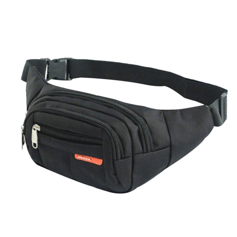 6 Colors New Uni Waist Pack Men Women Purse Casual Bum Bag Travelling Phone Money Pack Pouch Banana Bags Female Belt Bags