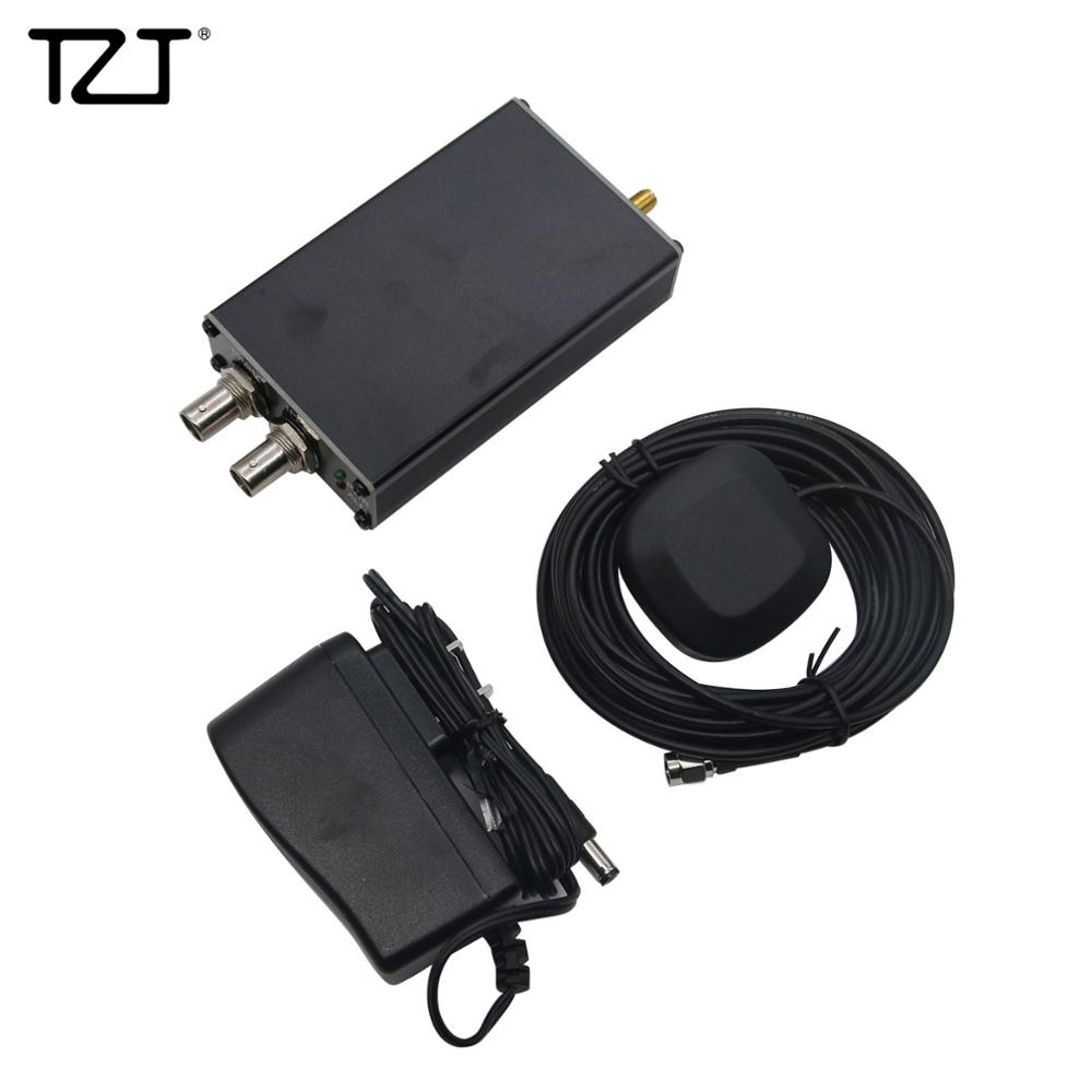 TZT PLL-GPSDO GPS marca reloj de onda sinusoidal receptor GPS 10M 1PPS Panel verde