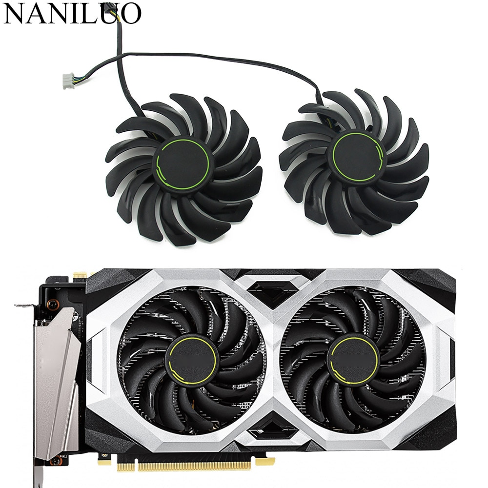 87MM PLD09210S12HH DC12V 4PIN RTX2070 graphics fan for MSI GeForce RTX 2060 2070 2080 Super VENTUS XS OC Graphics Card Fan
