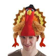 Drôle carnaval poulet jambe chapeau noël Thanksgiving décoration turquie chapeau adulte carnaval chapeau fête chapeau de fête