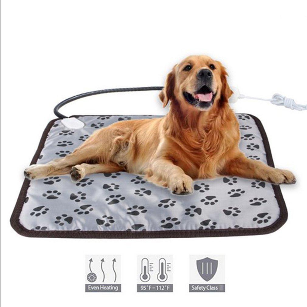 waterproof electric heating pad heater warmer mat blanket for pet Waterproof and Bite-resistant Cat and Dog Pet Electric Blanket Warm Heat Pad Bed Blanket Winter Warmer Mat