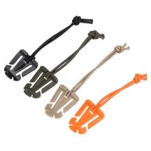 1/2/5Pcs   Backpack Buckle Carabiner Clips Outdoor Nylon Camping Bag Hanger Hook Clamp   Carabiner S