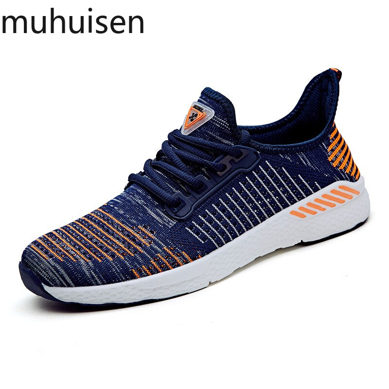 2019 Spring New Men Shoes Lac-up Men Casual Shoes Lightweight Comfortable Breathable Couple Walking