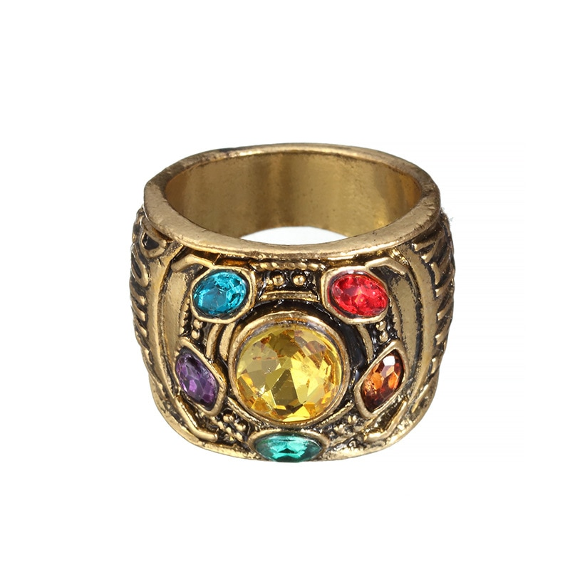 Hot selling superhero alloy ring fashion ring Cosplay alloy men's ring