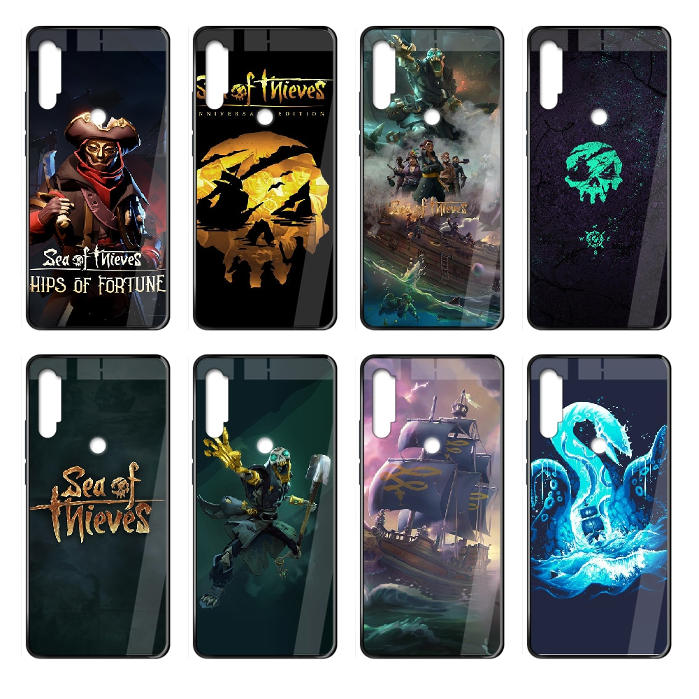 Sea Of Thieves game Phone case cover hull For Xiaomi Redmi Note S2 4 5 6 7 8 K20 A S X Plus Pro black coque painting cell cover