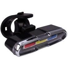 USB Rechargeable avant arrière vélo lumière Lithium batterie LED vélo feu arrière vélo casque lumière montage lampe vélo accessoires